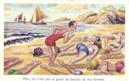 Illustrateur Non ,ce N'est Pas Le Grain De Beauté De Ma Femme RV - Humour