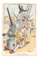 Nos Marins -L'Attaque  Aérienne - Illustrateur  H. Gervèse--(D.3397) - Gervese, H.