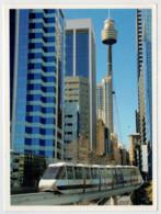 AUSTRALIA       TRAIN- ZUG- TREIN- TRENI- GARE- BAHNHOF- STATION- STAZIONI   2 SCAN   (NUOVA) - Treni