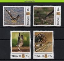 Nff151 FAUNA VOGELS RENKOEKOEK Geococcyx Californianus ROADRUNNER BIRDS VÖGEL AVES OISEAUX TUVALU 2011 PF/MNH - Kuckucke & Turakos