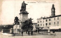 9524-2019   CAHORS   MONUMENT GAMBETTA ET TOUR DU LYCEE - Cahors