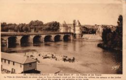 86 - 56 - CHATELLERAULT - Le Pont Henri IV - La Vienne Et Les Tours - Chatellerault