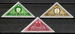 Lithuania 1991 Lituania / Independence MNH Independencia / Kc17  38-47 - Lituania