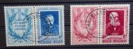 BELGIE  1952    Nr. 898 En 899     Gestempeld   CW  140,00 - België