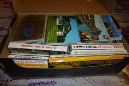 UNE BOITE (2.86kg) De CARNETS DEPLIANTS, CARNETS PHOTOS... - Postkaarten