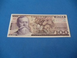 Billet Mexique , 100 Pesos 1982 - Mexique