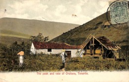 The Peak And Vale Of Orotava, Tenerife (1911, Animation, Colors) - Tenerife