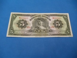 Billet Mexique , 5 Pesos 1969 - Mexique