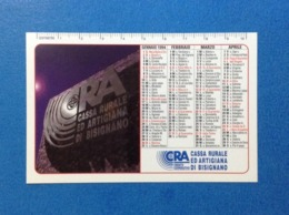 1994 Calendarietto Calendario Banca CRA Cassa Rurale Ed Artigiana Di Bisignano Cosenza - Calendari