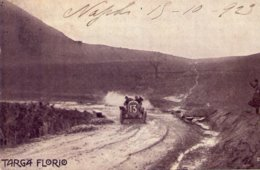 Palermo Targa Florio  Lopez  Aborda Una Curva A Tutta Velocità, Viaggiata 16 - 10 - 1923 - Palermo