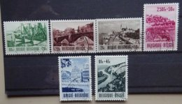 BELGIE  1953    Nr. 918 - 923    Gestempeld   CW  43,00 - Belgique