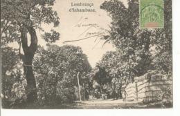CPA, Précurseur  ,Mozambique , Lembrança , D' Inhambane , Ed. Dos Simple - Mozambique