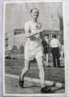 Foto Cromo Olimpiada De Los Ángeles. 1932. Nº 89. Atletismo, Marcha, Tommy, Inglaterra. Hecho En 1936 Olimpiada Berlín - Tarjetas