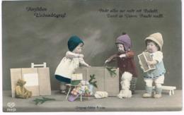 Käthe Kruse Puppen 1917 Mit Bär - Jeux Et Jouets