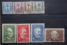 BELGIE  1953    Nr. 930 - 937     Gestempeld   CW  39,00 - Belgique