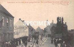 Gedenkenis Van De Processie Ter Gelegenheid Van O.L.V Hemelvaart Te Meulebeke - Meulebeke