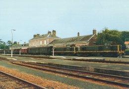 Bressuire (79) Juillet 1986 - UM De BB  63000 En Tete D'un Train MV - Bressuire