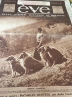 EVE 35 /GROUPE SAVOIE BRUXELLES/FEMME SPORT MOTO /JEANNE BOITEL /ANITA CONTI PIEUVRE /CHANSONS LYS GAUTY JEAN BIXIO - 1900 - 1949