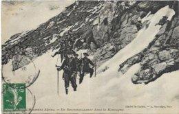 06.  CHASSEURS ALPINS.   EN RECONNAISSANCE DANS LA MONTAGNE - Unclassified