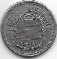 *notgeld  Querfurt 50 Pfennig 1918   Fe   435.4 - [ 2] 1871-1918 : Empire Allemand