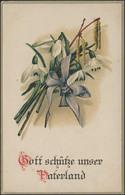 Ansichtskarte 1. Weltkrieg: Gott Schütze Unser Vaterland, Cöln-Riehl 7.11.17 - Occupation 1914-18