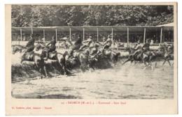 CPA 49 - SAUMUR (Maine Et Loire) - 45. Carrousel. Saut Final - Saumur
