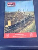 Vie Du Rail 1962 841 AULNOYE MAUBEUGE FEIGNIES JEUMONT BACHANT RECQUIGNIES Chemin De Fer De L'État Libanais CEL Lebanese - Eisenbahnverkehr