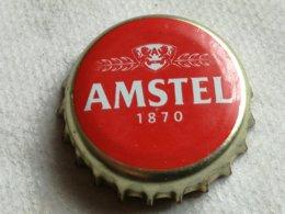 Chapa Kronkorken Cap Tappi Cerveza Amstel 1870. Amsterdam, Holanda - Cerveza