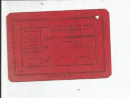 CARTE D ATHLETISME   De L UNION SPORTIVE MONTALBANAISE   SAISON 1932/33 - Athlétisme
