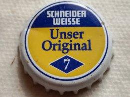 Chapa Kronkorken Caps Tappi Cerveza Schneider Weisse. Alemania - Cerveza