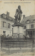 60  Liancourt  Statue Du Duc De La Rochefoucault - Liancourt