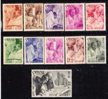 Belgio 1941 Orval  Serie Non  Completa MLLH - Belgium