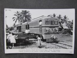 AK Ibarra, Ecuador Locomotiva Eisenbahn Zug // D*40529 - Ecuador