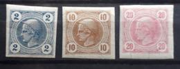 Kaiserreich 1899, Partie  Zeitungsmarken - 1850-1918 Empire