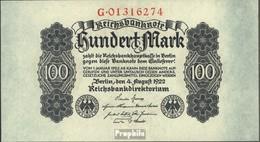 Allemand Empire Rosenbg: 72 Utilisé (III) 1922 100 Mark - 1918-1933: Weimarer Republik