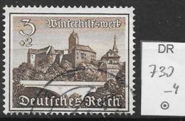 DR 1939  MiNr.  730    O / Used  (L1222) - Oblitérés