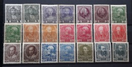 Kaiserreich 1908/1913, Mi 139-149 X+y Ungebraucht - 1850-1918 Empire