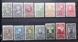 Kaiserreich 1910, Geburtstag Mi 161-174 Ungebraucht - 1850-1918 Empire