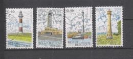 COB 3529 / 3532 Oblitération Centrale Les Phares - Used Stamps