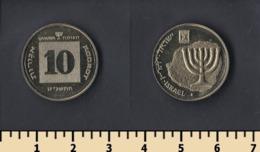Israel 10 Agorot 1998 - Israël