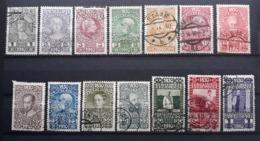 Kaiserreich 1910, Geburtstag, Mi 161-174, Gestempelt - 1850-1918 Empire