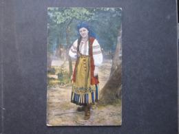 AK UKRAINA Ukraine Polen Tracht Costumi Typen Ca. 1915 /// D*40540 - Ukraine