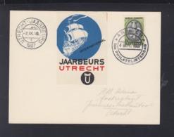 Postkaart Utrecht Jaarbeurs 1937 - 1891-1948 (Wilhelmine)