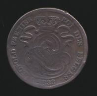 LEOPOLD I  10 CENT  1833 -  2 AFBEELDINGEN - 1831-1865: Léopold I