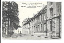 Leuven - Paus Adrianus Kollegie. Hoogeschoolplaats. - Leuven