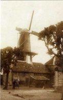 GEERTRUIDENBERG (Noord-Brabant) - Molen/moulin - De Verdwenen Stellingmolen Aan De Venestraat, Gesloopt In 1918 - Geertruidenberg
