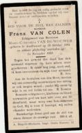 Austruweel, 1932, Frans Van Coolen, Van De Wouwer - Devotieprenten