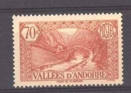 Andorre  :  Yv  69  ** - Unused Stamps