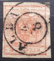 Österreich 1850, Stempel ALBA 4/8 - 1850-1918 Empire