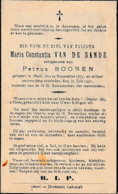 Geel, Gheel, 18937, Maria Van De Sande, Boonen - Imágenes Religiosas